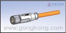 CONEC康耐 用于食品饮料行业的圆形M8×1连接器