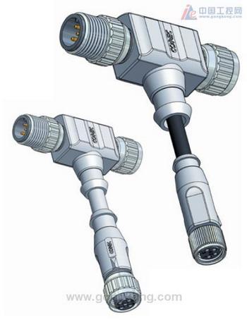 CONEC康耐 T型带线连接器