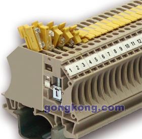 进联电子 CTR 2.5 轨道式接线端子