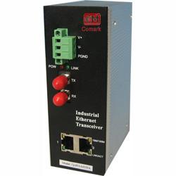 讯记  CK1011/CK1021系列2电1光多性能工业以太网光纤收发器
