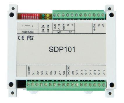 騰控 SDP101工業級遠程IO模塊