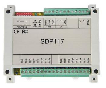 騰控 SDP117工業級遠程IO模塊