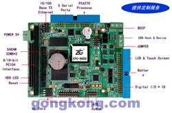 PC/104双路RS485工控机——EPC-8600
