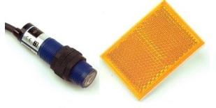 海立 W系列镜片反射型螺纹圆管型光电开关