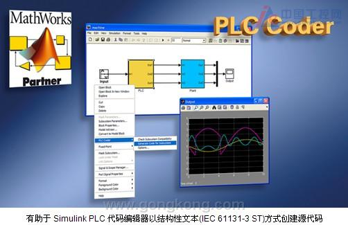MathWorks Simulink PLC代码编辑器