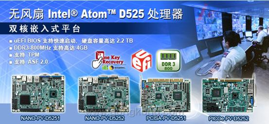 威强 支持Intel D525/D425/N455系列工业电脑