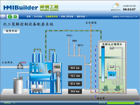 纵横科技 HMIBuilder分布式工业组态软件(嵌入版)