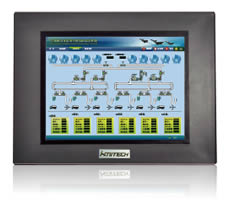 纵横科技 TPC105TD-CAN现场总线人机界面