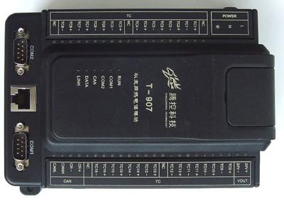 腾控科技16路热电偶输入以太网扩展模块T907