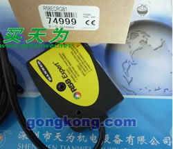 美国邦纳BANNER R58ECRGB1 R58ECRGB1Q R58ECRGB2 R58ECRGB2Q 色标传感器