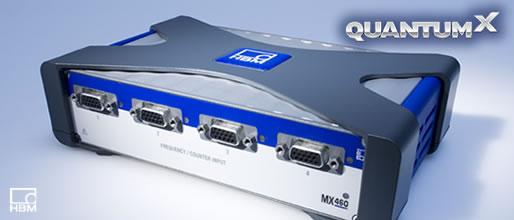 HBM  QuantumX MX460  4-通道载频放大器
