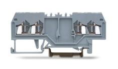 速普 SP215系列  2*2通道正面接线轨装弹簧接线端子(中间标记)