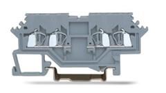 速普  SP215系列  2x2通道正面接线轨装弹簧接线端子(侧面标记)