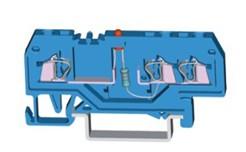 速普  SP215系列  1×2通道轨装弹簧发光管端子(中间标记)