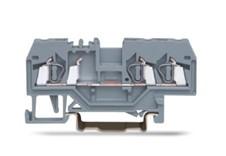 速普  SP225系列  3通道轨装弹簧正面接线端子