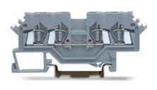 速普  SP225系列  4通道轨装弹簧正面接线端子(侧面标记)