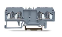 速普  SP225系列  2×2通道轨装弹簧正面接线端子(中间标记)