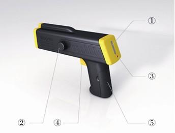 爱社科技 智能气体泄漏检测扫描枪