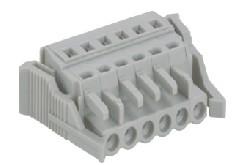 速普 2-24通道孔型连接器带卡接钩(防错插型)