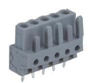 速普 2-24通道孔型插头带直型焊针