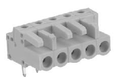 速普 2-24通道孔型插头带弯型焊针(防错插)
