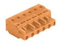 速普 2-24通道孔型连接器MCS多用途弹簧连接器