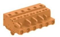 速普 2-24通道孔型连接器带销钉MCS多用途弹簧连接器