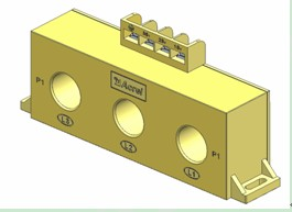 安科瑞 AKH-0.66/Z 三相電流互感器