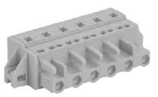 速普 2-24通道孔型连接器带固定器(防错插)MCS多用途弹簧连接器