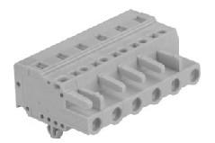 速普 2-24通道孔型连接器带销钉(防错插)MCS多用途弹簧连接器