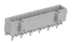 速普 2-24通道直型焊针插座(防错插)MCS多用途弹簧连接器