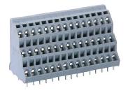 速普 SP258 PCB电路板用组合端子排(2焊针交错排列)