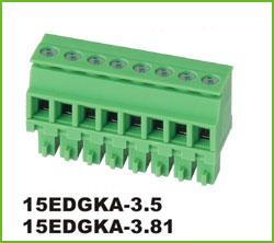 高正 15EDGKA-3.5/3.81 PCB插拔式接线端子台