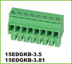 高正 15EDGKB-3.5/3.81 PCB插拔式接线端子台