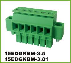 高正 15EDGKBM-3.5/3.81 PCB插拔式接线端子台