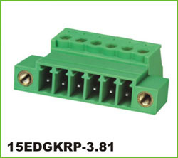 高正 15EDGKRP-3.81 PCB插拔式接线端子台