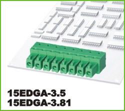 高正 15EDGA-3.5/3.81 PCB插拔式接线端子台