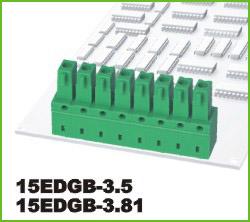 高正 15EDGB-3.5/3.81 PCB插拔式接线端子台