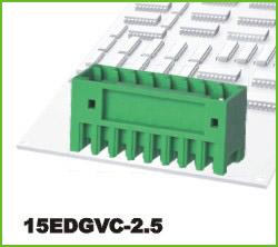 高正 15EDGVC-2.5 PCB插拔式接线端子台