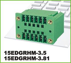 高正 15EDGRHM-3.5/3.81 PCB插拔式接线端子台