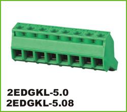 高正 2EDGKL-5.0/5.08 PCB插拔式接线端子台