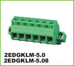 高正 2EDGKLM-5.0/5.08 PCB插拔式接线端子台