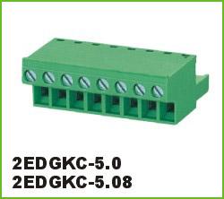 高正 2EDGKC-5.0/5.08 PCB插拔式接线端子台