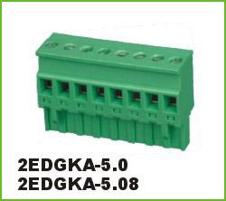 高正 2EDGKA-5.0/5.08 PCB插拔式接线端子台