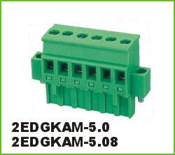 高正 2EDGKAM-5.0/5.08 PCB插拔式接线端子台