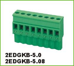 高正 2EDGKB-5.0/5.08 PCB插拔式接线端子台