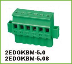 高正 2EDGKBM-5.0/5.08 PCB插拔式接线端子台