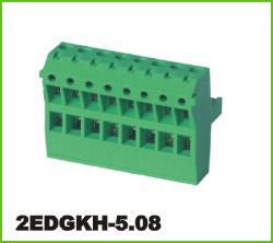 高正 2EDGKH-5.08 PCB插拔式接线端子台