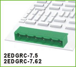高正 2EDGRC-7.5/7.62 PCB插拔式接线端子台