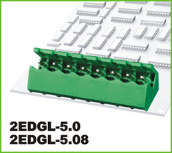 高正 2EDGLC-5.0/5.08 PCB插拔式接线端子台